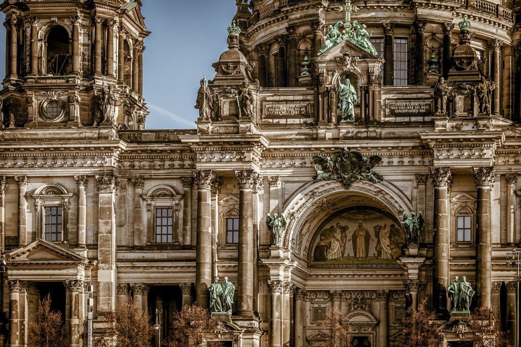 berlin cathedral, building, architecture